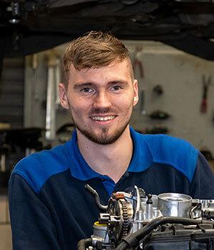 Kfz-Mechaniker Gijs de Jong