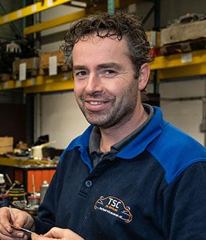 Kfz-Mechaniker Hendrik van Mook
