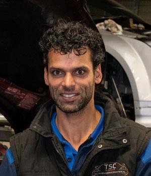 Kfz-Mechaniker Patrick van Leeuwen