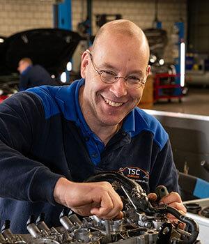 Kfz-Mechaniker René van Dam