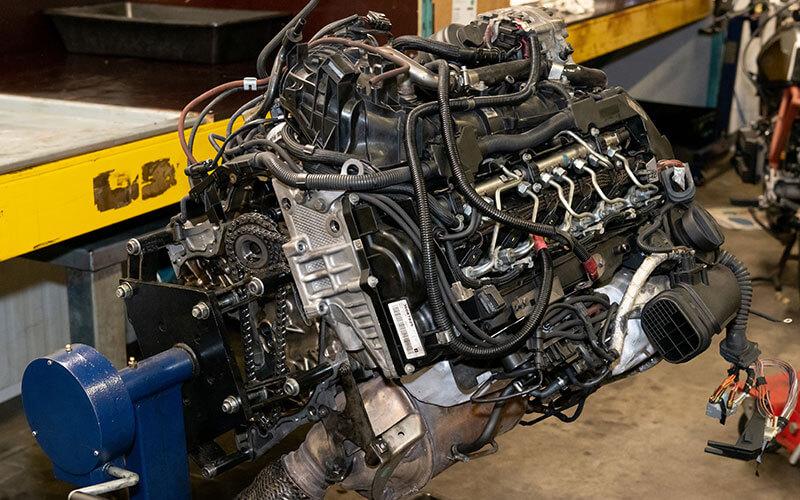 BMW-Benzinmotor N20B20 und B48 und B38 steuerkette