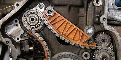 Gedehnte Steuerkette Mini BMW THP-Motor